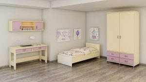 Roomix children's room Liora purple