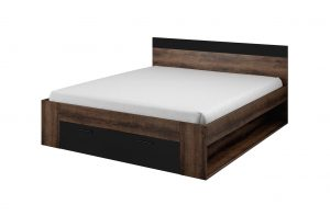 helvetia beta black bed